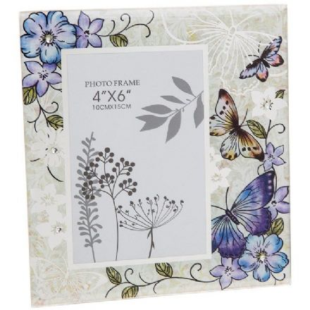 Lavender Butterfly Frame 4 x 6